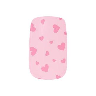 Pink Hearts Minx® Nail Wraps