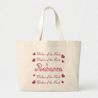 Pink Hearts MOTHER OF THE BRIDE Wedding Bag V03
