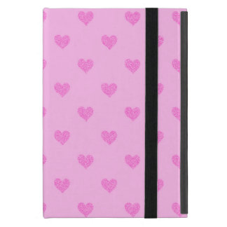 Pink  Hearts :Powis iCase iPad Mini Case
