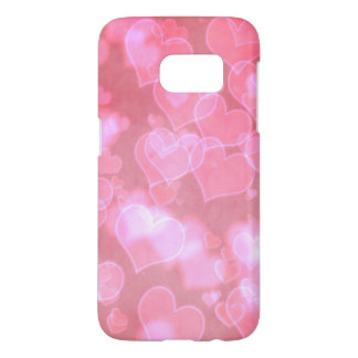 Pink Hearts Samsung Case