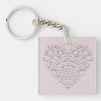 Pink HeartyChic Key Chains
