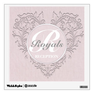 Pink HeartyChic Wall Decal