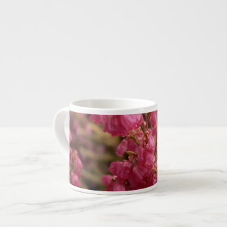 Pink Heather flowers Espresso Cup
