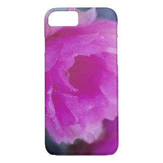 Pink Hedgehog Cactus blossom (Echinocereus iPhone 8/7 Case