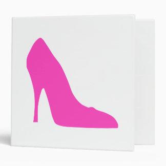 Pink Heels 3 Ring Binder