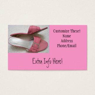 Pink Heels Business Cards