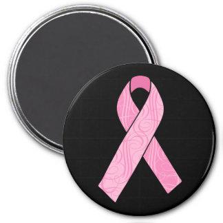 Pink Hero 3 Inch Round Magnet