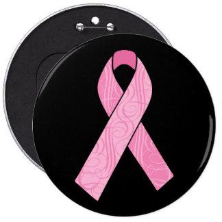 Pink Hero Pinback Button