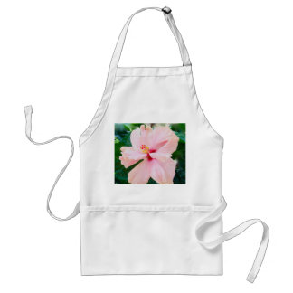 Pink Hibiscus Adult Apron