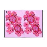 Pink Hibiscus And Honu Turtles Cases For iPad Mini