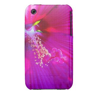 Pink Hibiscus Close up Photo phone case