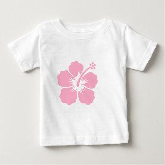 Pink hibiscus F Tee Shirt