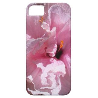 Pink Hibiscus Flower iPhone 5 Cases