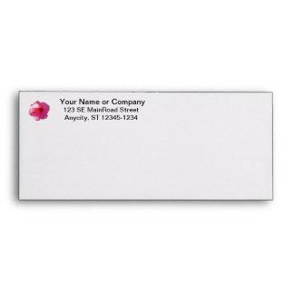 pink hibiscus flower image envelopes