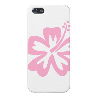 pink hibiscus flower J Case For iPhone SE/5/5s