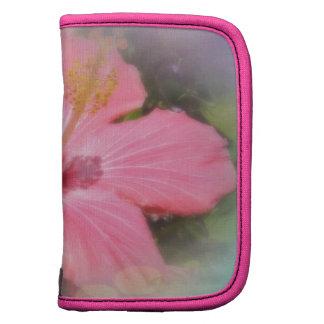 Pink Hibiscus Flower Organizer