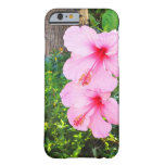 Pink Hibiscus flowers iPhone 6 Case