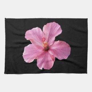 Pink Hibiscus Hawaii Flower Customized Template Hand Towel