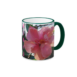 Pink Hibiscus in Hawaii Coffee Mug