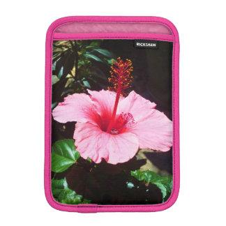 Pink Hibiscus In The Sun iPad Mini Sleeve