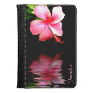 Pink Hibiscus Kindle Fire Folio