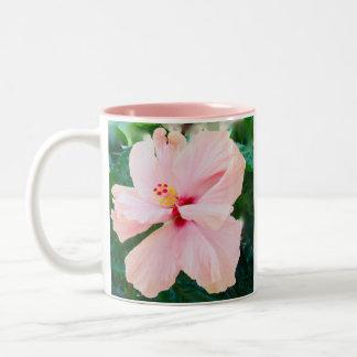 Pink Hibiscus Mugs