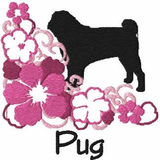 Pink Hibiscus Pug