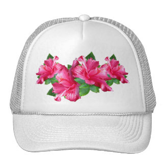 Pink Hibiscus Queen Hat