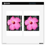 Pink hibiscus skin for kindle fire