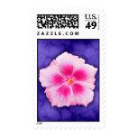 Pink Hibiscus Stamp