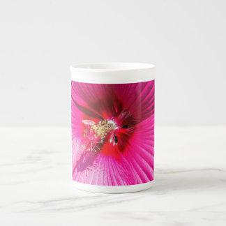 Pink Hibiscus Tea Cup