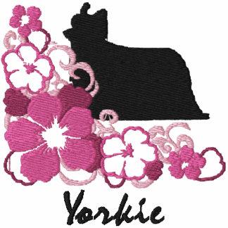 Pink Hibiscus Yorkie