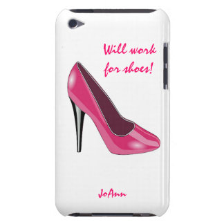 Pink High Heel Shoe iPod Touch Case