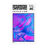 Pink High Heels Postage Stamp