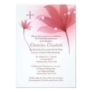 Pink High Invitation