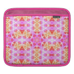 Pink Hippie Mandala Pattern iPad Sleeves
