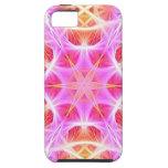 Pink Hippie Mandala Pattern iPhone 5 Cases