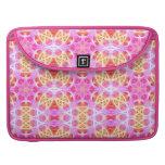 Pink Hippie Mandala Pattern MacBook Pro Sleeve