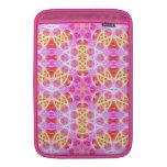Pink Hippie Mandala Pattern MacBook Sleeves