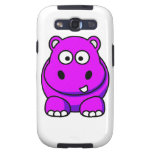 Pink Hippo Case Samsung Galaxy SIII Cover