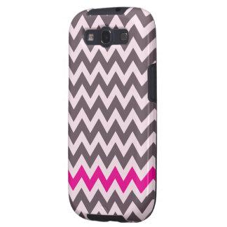 Pink Hipster Chevron case-Mate Samsung Galaxy S2 Galaxy SIII Case