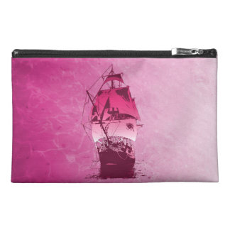 Pink Historical Ship Travel Accessories Bags