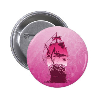 Pink Historical Ship Buttons