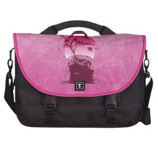 Pink Historical Ship Commuter Bags