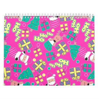 Pink - Ho Ho Santa Calendar
