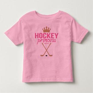 Pink Hockey Princess Toddler Toddler T-shirt