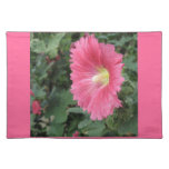 Pink Hollyhock Placemats Place Mats