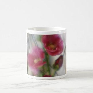 Pink Hollyhocks Mug
