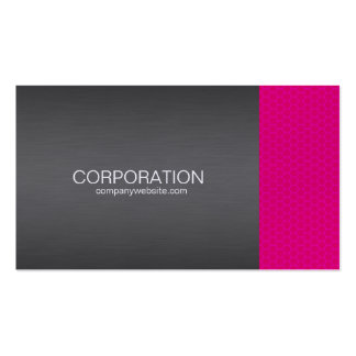 Pink honey comb elite business card