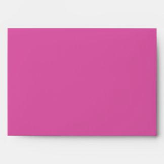 Pink honeysuckle customizable envelopes